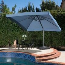 Garden Canopy Umbrella Metal Frame Base Aluminum Poles Patio Pool Backya... - $766.85 CAD