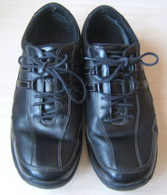 7f7ec866a3ab3d Rockport XCS Black Mens Dress Sneakers Size 11 Eleven Shoes Leather - $30.74