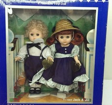 "1986 Ginny Vogue Dolls JACK & JILL 8"" Poseable Dolls Sealed in original box - $29.69"