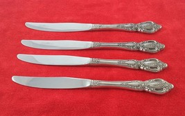 4 Dinner Knives Monte Carlo by Oneida Deluxe Stainless Flatware Silverwa... - $18.81