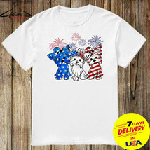 Firework Yorkshire Terrier American Flag Independence Day 4th of July - $12.99