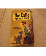 Vintage PB The Exile by Pearl Buck UK Pan Books X259 1963 1st GG /Asian ... - $16.95
