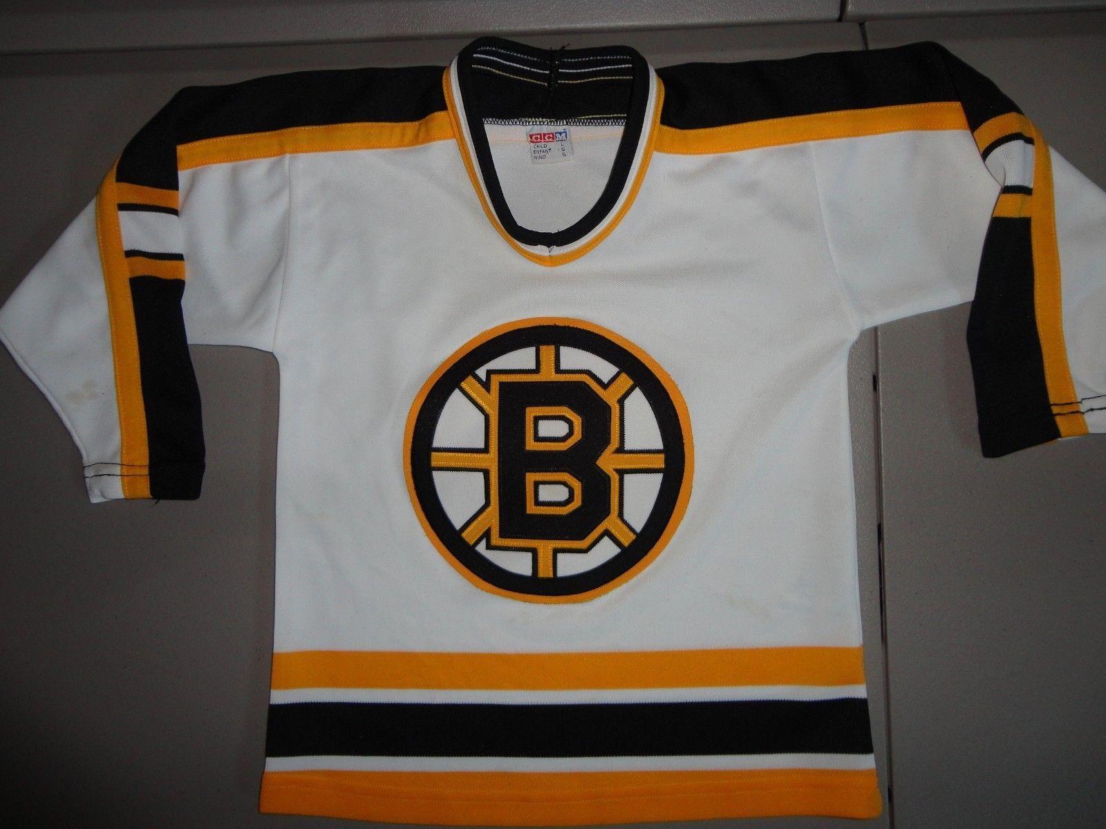 S l1600. S l1600. Previous. Boston Bruins SEWN CCM NHL Hockey White Jersey  Kids Boys Size L · Boston Bruins SEWN CCM NHL ... b7552b884