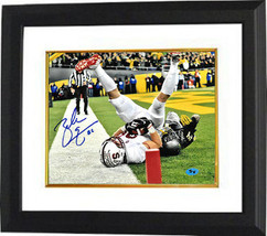 Zach Ertz signed Stanford Cardinal 8x10 Photo #86 Custom Framed (TD Catch) - $109.95