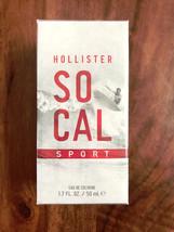 Hollister So Cal Sport Cologne 1.7 oz 50 ml Cardamom Violet Black Amber Fresh - $29.99