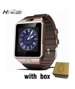 Smart Watch Clock With Sim Card Slot Push Message Bluetooth Connectivity... - $16.50