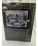 Dimensions Gold Counted Cross Stitch Kit 8569 A Treasured Time  - $32.95
