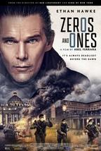Zeros and Ones Movie Poster Abel Ferrara Ethan Hawke Movie Art Film Prin... - $10.90+