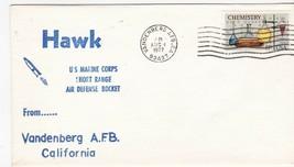 HAWK AIR DEFENSE ROCKET VANDENBERG AFB, CA AUGUST 4 1977  - $1.98