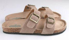 Woodstock Women Leslie Comfort Footbed Adjustable Straps Sandal Shoe Tan Size 9 image 3