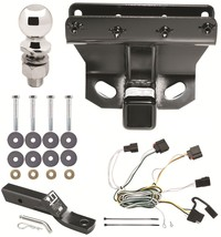2007-2010 Jeep Grand Cherokee Complete Trailer Receiver Tow Hitch Package ~ New - $179.72