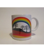 Free with Purchase, Vintage Rainbow Novelty Coffee Mug Cup - $0.00