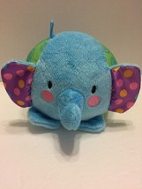 Fisher Price  Elephant Plush Baby Toy Plays Peek a Boo & Rattles - $6.79