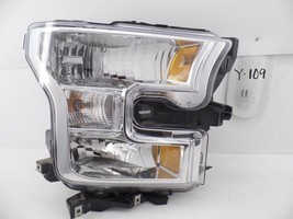 USED OEM HEAD LIGHT HEADLIGHT LAMP HEADLAMP HALOGEN 15-17 FORD F150 moun... - $69.30