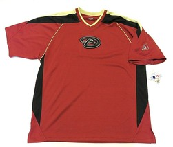 NWT MLB Arizona Diamondbacks Short Sleeve Baseball Jersey Style Shirt Men's Sz M image 1