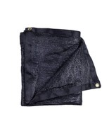 40% Black Shade Cloth Taped Edge with Grommets 10 ft X 20 ft - $79.99+