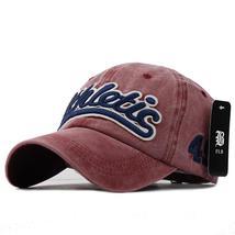 100% Washed Denim Baseball Summer Hat for Men Women hats Letter Embroide... - $13.26