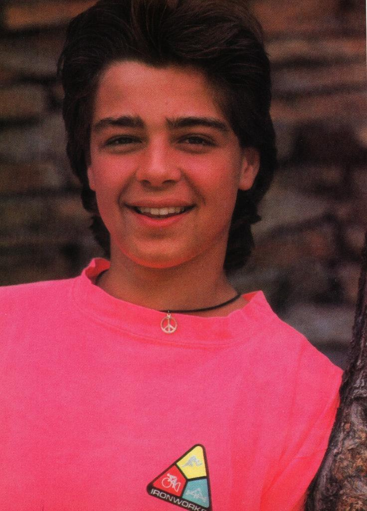 Joey Lawrence teen magazine pinup clipping Brotherly Love Tiger Beat Bop