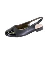 PEERAGE Kennedy Women Wide Width Adjustable Slingback Casual Leather Flat - $54.95