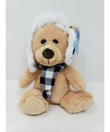 Signature Select Bear With Hat & Scarf - New - $9.99