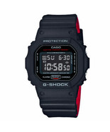Casio DW5600HR-1CR Men's G-Shock Digital Watch - Black/Red - $92.06