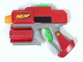 Nerf Red Crossfire Sidearm Pistol Dart Tag Gun Strikefire Blaster - Masterkey - $5.87