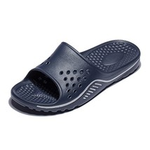 Fendou Men's Shower and Pool Sandals Anti-Slip Rubber Bath Slippers Indo... - $13.24