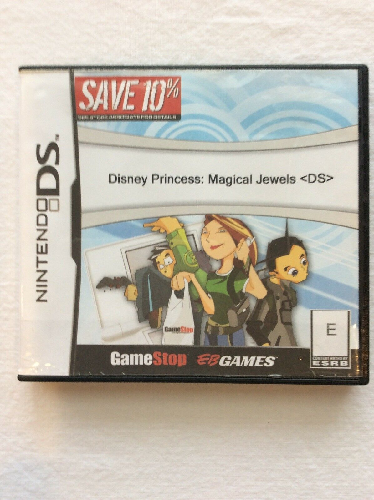 Primary image for Nintendo DS Disney Princess Magical Jewels with Case Without Manual Tested