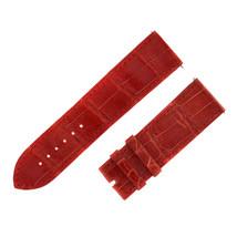 Franck Muller 24 - 22 mm Genuine Alligator Leather Red Watch Band - $236.55