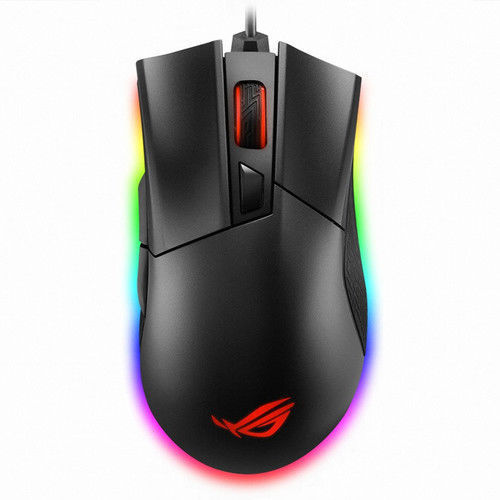 New ASUS ROG Gladius II ORIGIN Aura Sync USB Wired Game Mouse -free ship& track