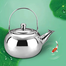 Induction Cooker Ball Shape Stainless Steel Durable Kettle Teapot With F... - $20.00+
