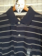 *Tommy Hilfiger* -Men's Striped 2 Button Polo -N.W.T. -Med - $18.46
