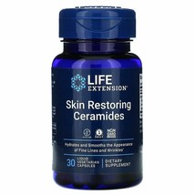 Skin Restoring Ceramides, 30 Veggie Caps Life Extension phytoceramides - $18.04