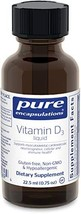 Pure Encapsulations - Vitamin D3 Liquid - Hypoallergenic Support for Bone, Breas