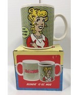 BLONDIE COMIC Coffee Mug/Cup Because I'm The Mother Thats Why! Mothers D... - £17.62 GBP