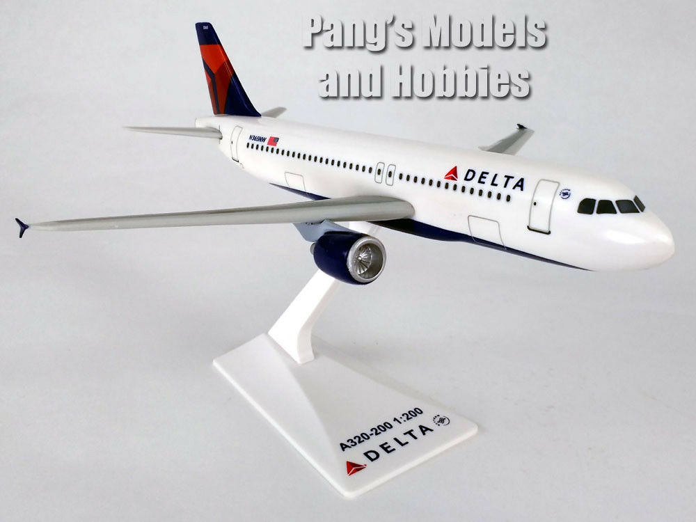 Primary image for Airbus A320-200 (A320) Delta Airlines 1/200 Scale Model by Flight Miniatures