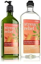 Bath & Body Works Aromatherapy Stress Relief Eucalyptus Tangerine Gift Set - $45.17