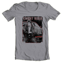 Knight Rider  KITT Graphic Tee David Hasselhoff retro 1980s TV t-shirt NBC669 image 2