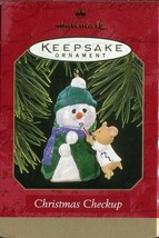 1997 New in Box - Hallmark Keepsake Christmas Ornament - Christmas Checkup - $1.97