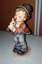Goebel Serenade Boy with Flute W Germany porcelain  ceramic Figurine - $199.37