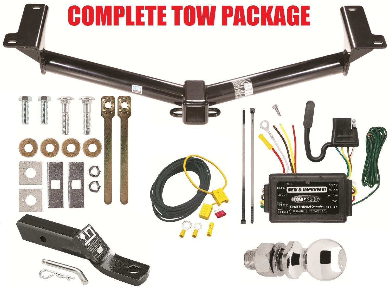 2011 2012 Dodge Journey Trailer Hitch And 50 Similar Items Tow Wiring Harness Kit Ballmount 2 Ball