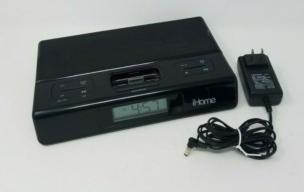 iHome iH27B Portable Speaker And Charger