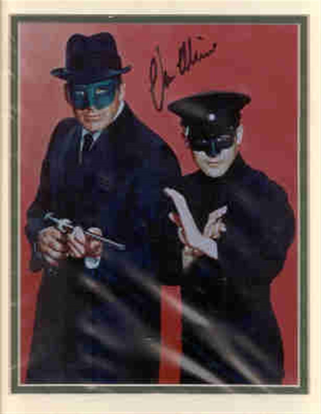 Primary image for Van Williams double matted Green Hornet photo. Shown with Bruce Lee. NICE !!