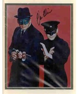 Van Williams double matted Green Hornet photo. Shown with Bruce Lee. NIC... - $42.99