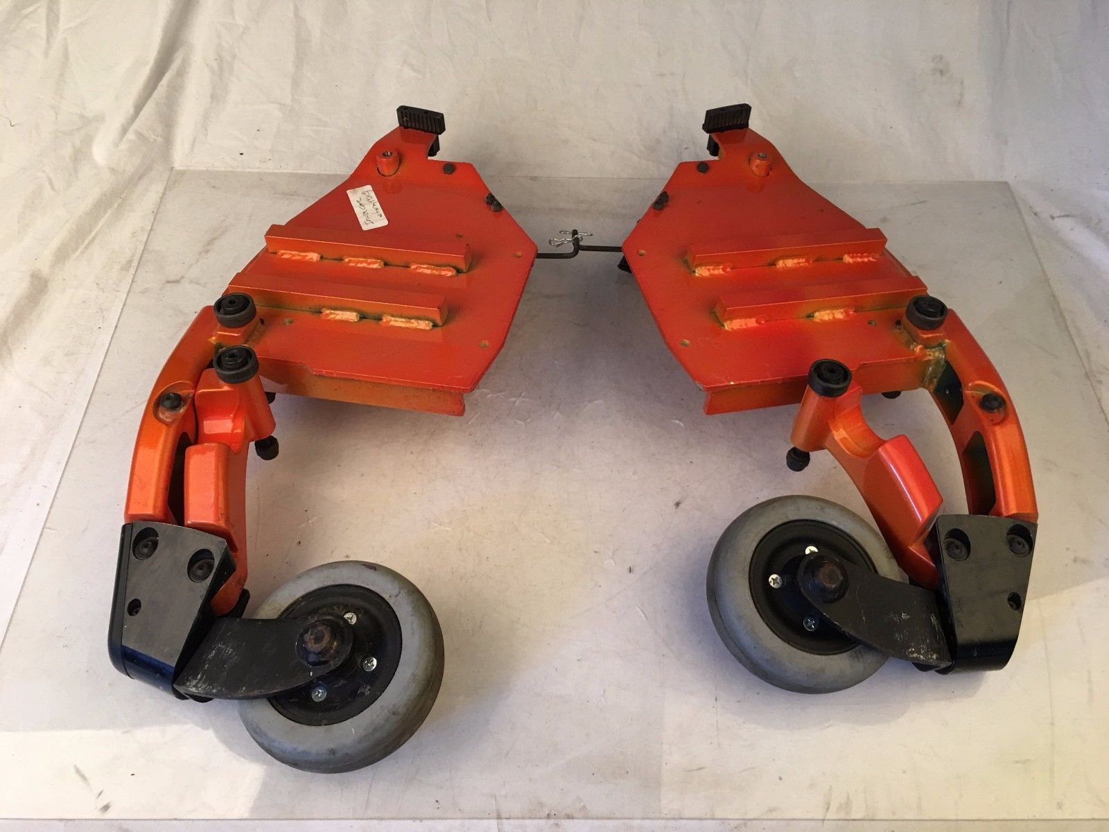 Invacare Front Caster Arms w/ Wheels from Storm TDX5 Power Wheelchairs
