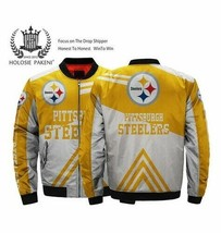 NFL-Pittsburgh-Steelers 3D Hoodie S-5XL , Gifts For Fans, Gift For Family - $35.31+