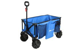 Ozark Trail All-Terrain Folding Wagon with Oversized Wheels, Blue - $1.510,24 MXN