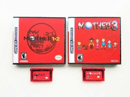 Mother 1 + 2 + 3 - English Translation GBA Game Boy Earthbound w/ Case B... - $47.49