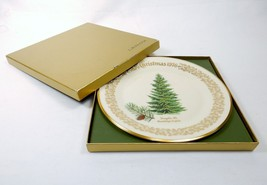 Lenox Collector's Plate ~ Commemorative Issue Christmas 1976, Douglas Fir, JS-17 - $24.45