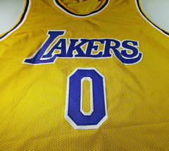 KYLE KUZMA / AUTOGRAPHED LOS ANGELES LAKERS CUSTOM BASKETBALL JERSEY / COA image 2